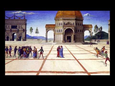 The Delivery of the Keys (Perugino) 3D flythrough