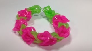 Bandaloom: How to make a Tulip Tower Bracelet