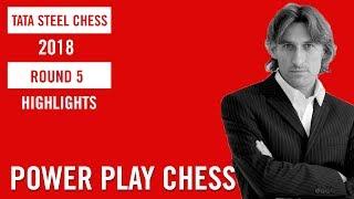 Tata Steel Chess 2018 Round 5 Highlights