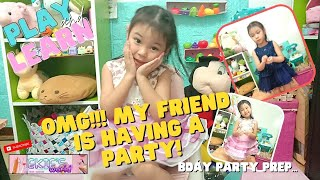 How I Prep Myṡelf ll Going for an exclusive birthday party ll 3 years old kikay ways