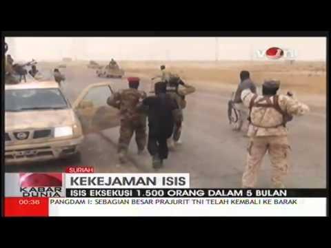ISIS Eksukusi Mati 1500 Orang