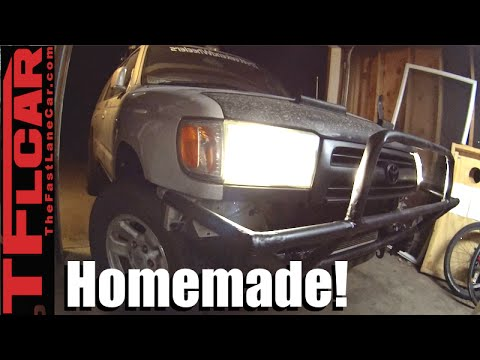 DIY Toyota 4Runner Bumper Build - DiffLock Ep.14