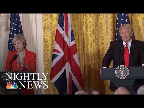 Special Relationship Between U.S. And The U.K. Sours | NBC Nightly News
