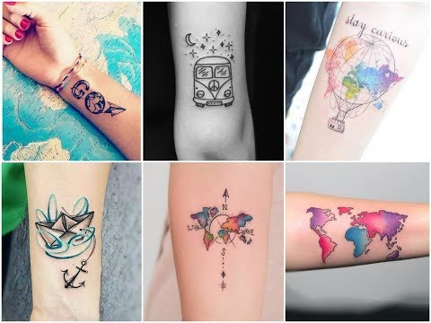Inspiring Travel Tattoos Design Ideas for Womens and Mens