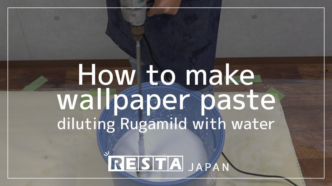 DIY How To Make Wallpaper Paste