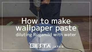 [DIY] How to make wallpaper paste