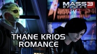 Mass Effect 3 Citadel DLC: Thane Romance (incl. ending scene and video messages)