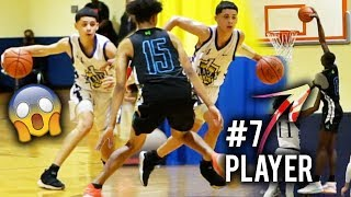 6'3 Emmanuel Maldonado Gets SHIFTY Vs #7 Player In The Country Moussa Diabate! 1Family vs NightRydas