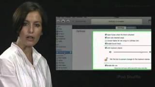 iPod Shuffle (Spanish) - Configuración del volumen utilizando iTunes