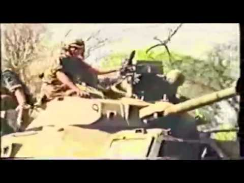 South African Defence Force  - Angolan Bush War