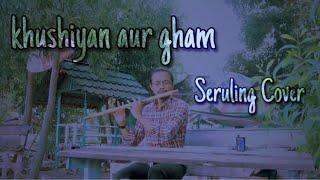 Khushiyan Aur Gham - Seruling Cover by yoga_mexjun
