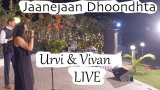 Jaanejaan Dhoondhta | Asha Bhosle, Kishore Kumar |  LIVE  | Urvi & Vivan Kaul | जाने जाँ ढूँढता