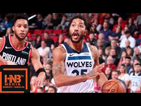 Minnesota Timberwolves vs Portland Trail Blazers Full Game Highlights | 12.08.2018, NBA Season