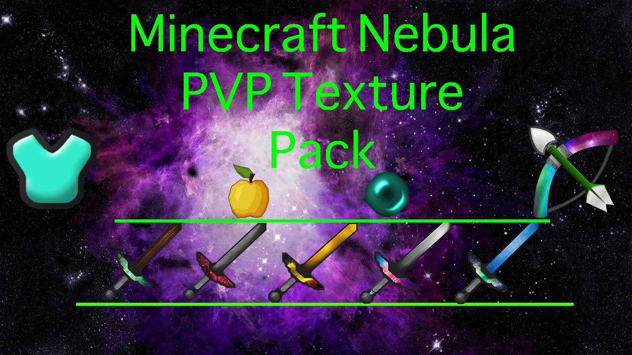 Minecraft Nebula PVP Texture Pack [Sick Swords, Particles ...