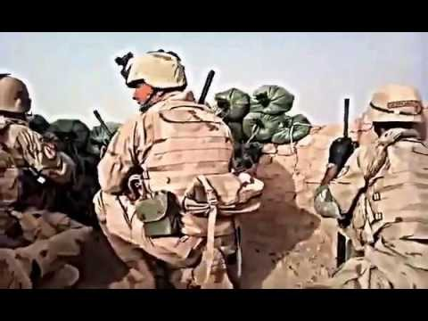 Georgian Soldiers in Firefight against Taliban Insurgents - 2011