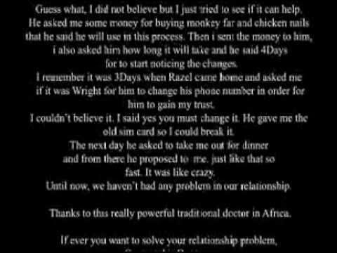Black Magic Love Spells | Dr Jumba - YouTube