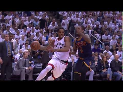 DeRozan Reverse Lay-In Game 4 ECF NBA Playoffs Cleveland Cavaliers vs Toronto Raptors