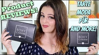 BoxyCharm Unboxing and REVIEW! August & September 2017! | Jen Luvs Reviews