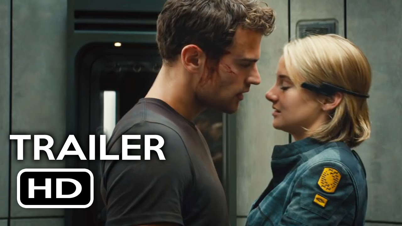 The Divergent Series: Allegiant Official Trailer #1 (2016) Shailene Woodley  Movie HD