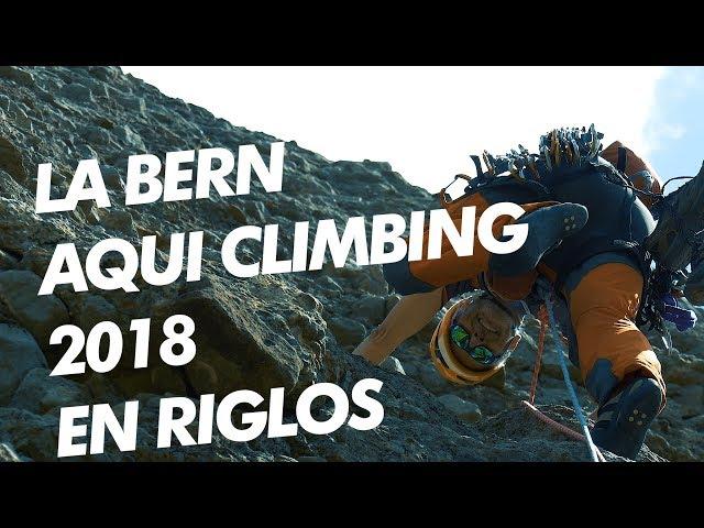 Club Alpin de Pau - La Bern Aqui Climbing en Riglos