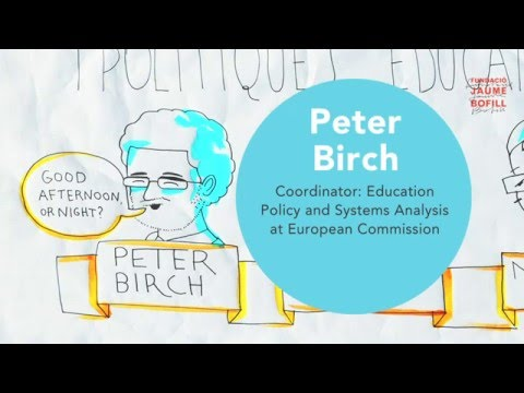 Graphic summary: The Teaching Profession in Europe - Presentation EURYDICE report at Barcelona
