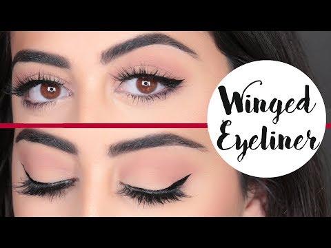 How To: Perfect Winged Eyeliner   رسم الآيلاينر المجنح كالمحترفين