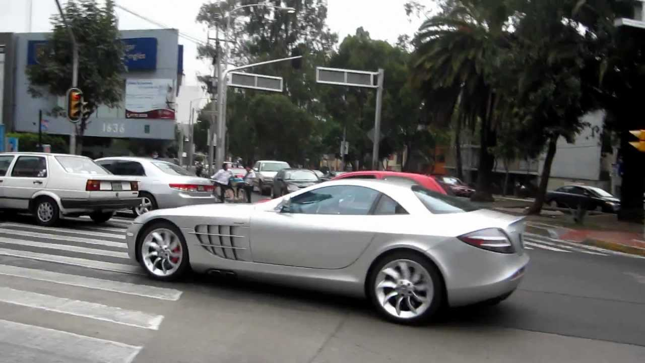mercedes benz slr mclaren en m xico df youtube