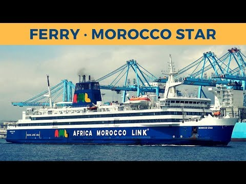 Passage ferry MOROCCO STAR, Algeciras - Tanger Med (Africa Morocco Link)
