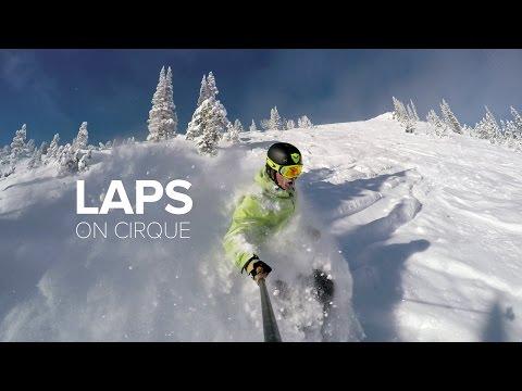 4K Powder Skiing - Snowbird Cirque