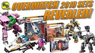 OUR THOUGHTS!! LEGO OVERWATCH SETS REVEALED NEWS UPDATE!!