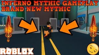 PLAYING WITH THE BRAND NEW INFERNO MYTHIC (ROBLOX ASSASSIN GAMEPLAY) *IS IT WORTH IT TO BUY?*