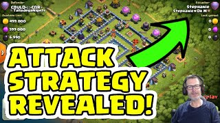 Stephanie ❤️ Dr M - ATTACKED STRATEGY REVEALED - Clash of Clans - Legend League