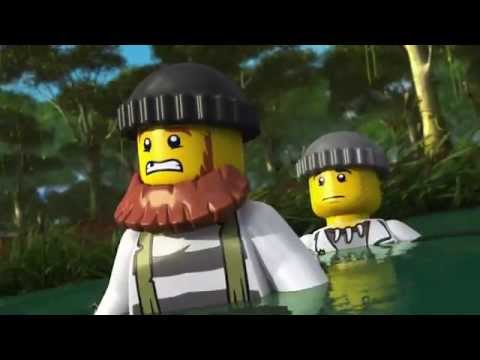 The Wild Chase - LEGO City Swamp Police - Mini Movie 3D