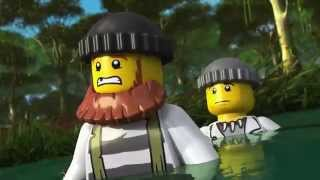 LEGO® City Swamp Police -  The Wild Chase Mini Movie 3D