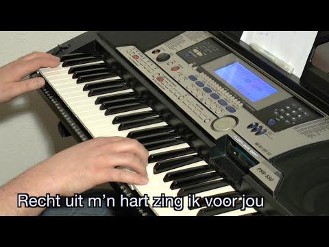 Jan Smit - Recht uit m'n hart KARAOKE + lyrics