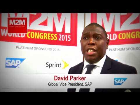 David Parker, SAP IoT VP - Interview at M2M World Congress 2015