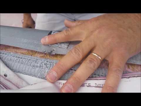 Keystone Raptor Trailer rubber roof repair after warranty fail