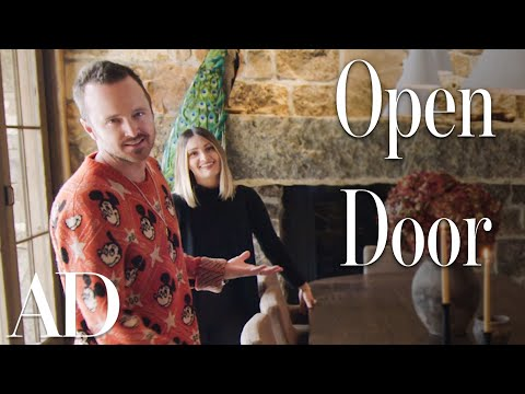 Inside Aaron Paul's Rustic Riverside Home In Idaho | Open Door | Architectural Digest