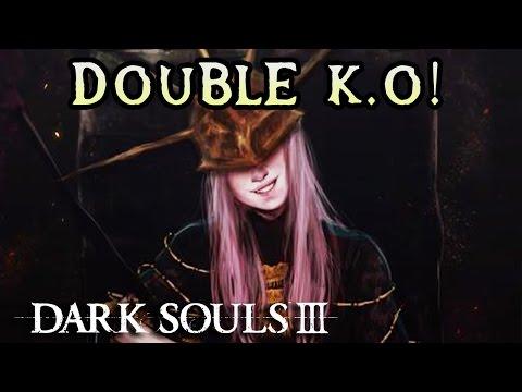 ALDRICH DOUBLE K.O FAIL! Dark Souls 3 PC Solo Rage! (#13)