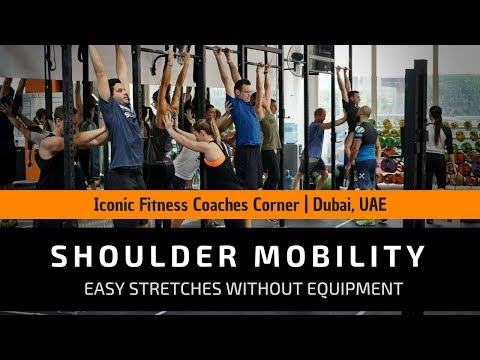 ICONIC FITNESS COACHES | Easy Shoulder Stretches