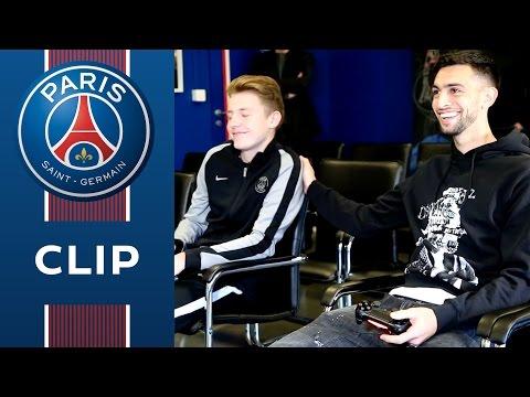 FIFA 17 : DAXE (PSG eSports) vs BLAISE MATUIDI / JAVIER PASTORE