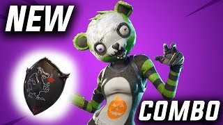 *BEST* Spooky Team Leader & Back Bling COMBO! - Fortnite Battle Royale (Skin Review)