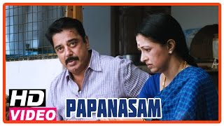 Papanasam Tamil Movie | Climax Scene | Court gave verdict that Kamal is innocent | Asha Sarath