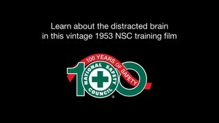 Vintage National Safety Council Video on Distracted Driving