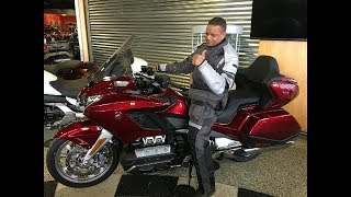 Seeing the new 2018 Goldwing honest thoughts.