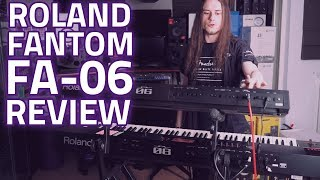 Roland Fantom FA-06 Music Synthesizer Workstation Review - PMTVUK