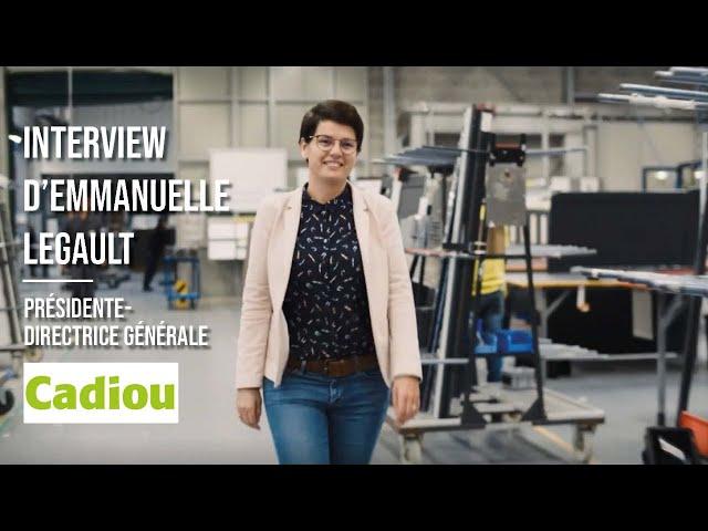 Cadiou Industrie - Emmanuelle Legault