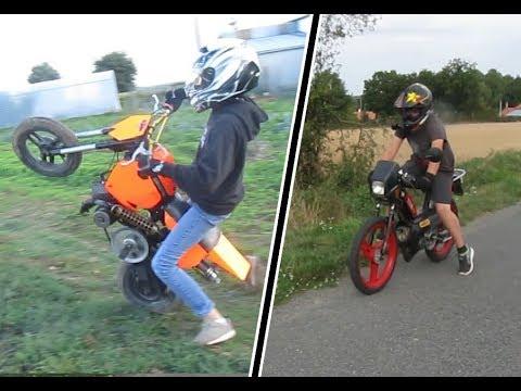 De la 103 de la mbk et de la moto fait maison youtube - La maison de la moto ...