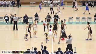 北陸vs東海大諏訪(Q1)高校バスケ 2019 北信越新人戦準決勝