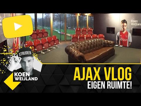 Ajax Vlog: onze eigen trainingsruimte!
